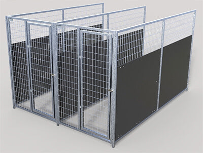 TK Products Kennels Isolation pannels for multi kennels