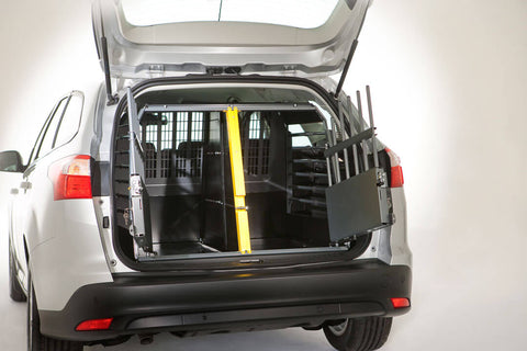 MIM Safe Variocage Double both doors open - Car Crash Tested Travel Crate