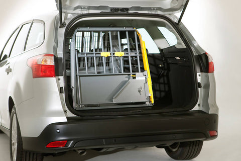 MIM Safe Variocage Single Dog Car Crash Tested Travel Crate for hatchbacks suvs cars