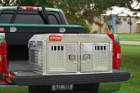 Owens Product Hunter Aluminum Double Dog Box 55017