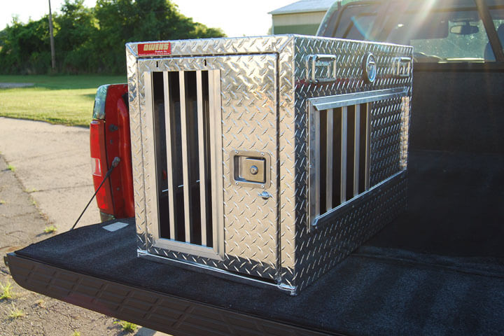Owens Product All Seasons Aluminum Single Dog Box 55019