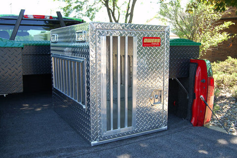 Owens Product All Seasons Aluminum Single Dog Box 55033L