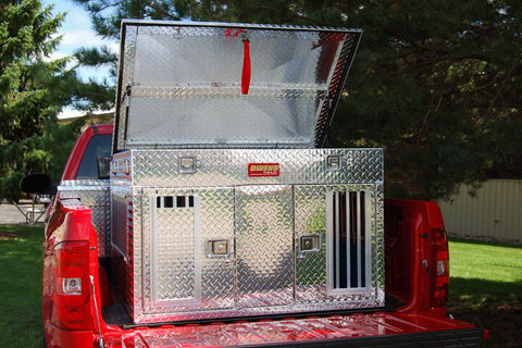 Owens Product Hunter All Seasons Aluminum Double Dog Box 55044
