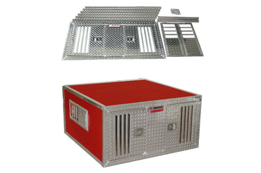 Owens Product Aluminum DIY Double Dog Box Kit 55048 55046