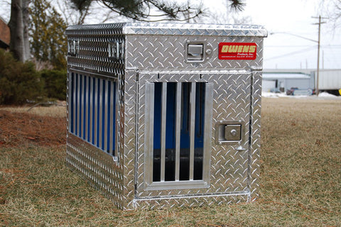 Owens Product All Seasons Aluminum Single Dog Box 55065