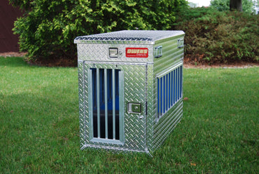 Owens All Seasons Aluminum Single Dog Box 55070 tall box
