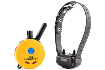 e-Collar ET-300 MINI Educator 1/2 mile remote dog collar yellow