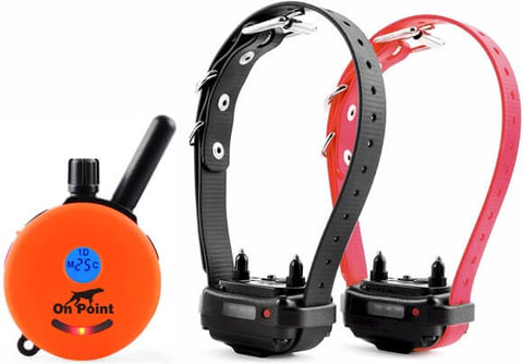 E-Collar ET-302 Mini Educator 1/2 Mile Remote 2-Dog Trainer in Orange