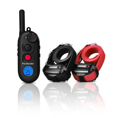 E-Collar PE-900 Pro Educator Advanced Remote Dog Trainer 1/2 Mile for 2 dogs
