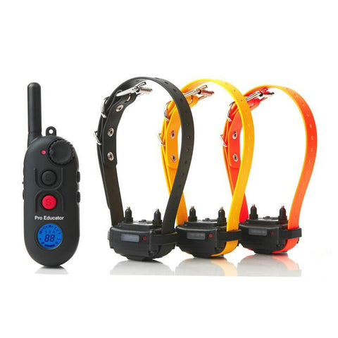 E-Collar PE-900 Pro Educator Advanced Remote Dog Trainer 1/2 Mile for 3 dogs