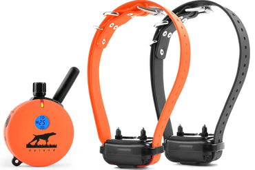 E-Collar UL-1202 Upland Hunting 2-Dog Remote Trainer 1 Mile UL-1202