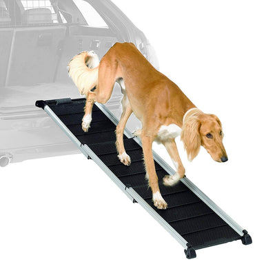 Klienmetal DogWalk3 Telescoping Dog Ramp for SUVs and Wagons 14000860