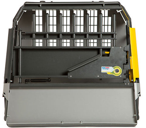 MIM Safe Variocage Compact Extra Large (XL) 00368 car crash test crate for hatchbacks front view