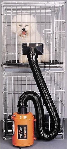 MetroVac Air Force CageMaster Pet & Dog Cage Dryer