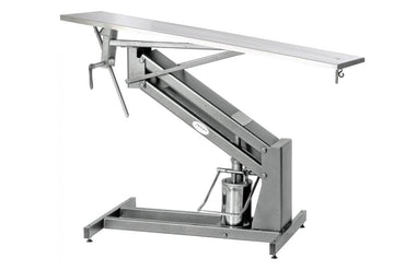 "VetLine 22""x44"" Hydraulic Veterinary Surgery Table with Foot Pump"