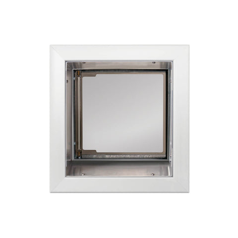 PlexiDor In-Wall Mount Performance Cat & Dog Door in white small