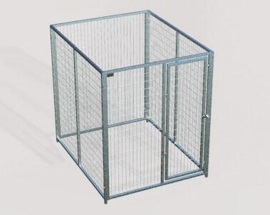 TK Products Pro-Series Single Dog Kennel - Indoor/Outdoor Wire Enclosed Kennel 5x5