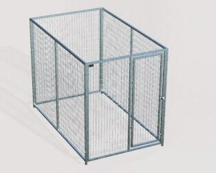 TK Products Pro-Series Single Dog Kennel - Indoor/Outdoor Wire Enclosed Kennel 5x6