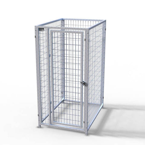 TK Products Pro-Series Single Dog Kennel - Indoor/Outdoor Wire Enclosed Kennel 3'x4'