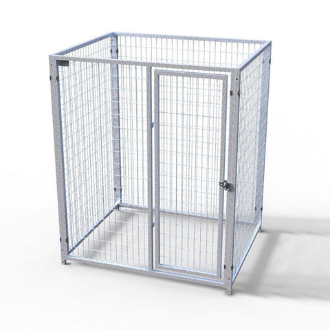 TK Products Pro-Series Single Dog Kennel - Indoor/Outdoor Wire Enclosed Kennel 5'x4'
