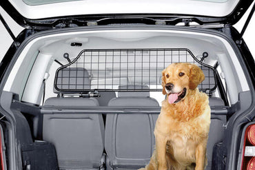KleinMetall Universal TraficGard Car/SUV Dog Cargo Barrier image with Dog