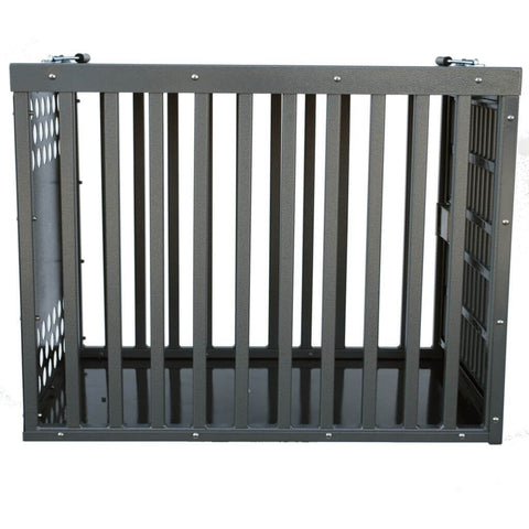 Zinger Heavy Duty Aluminum Dog Crate Side view image
