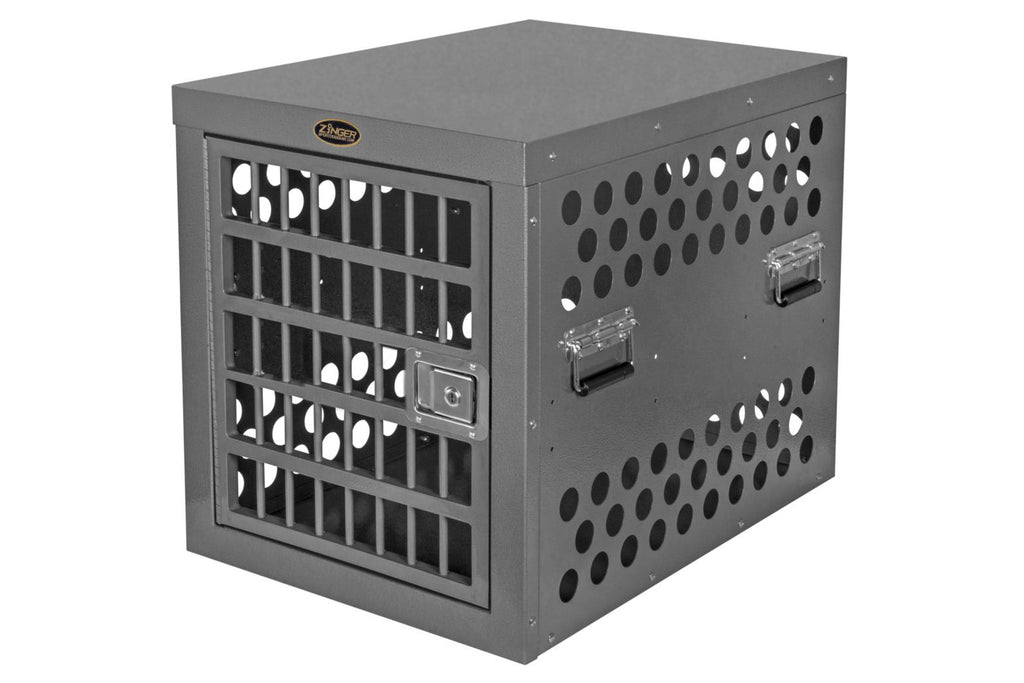 Zinger Professional Aluminum Dog Crate Front Entry DX3000-2-FD