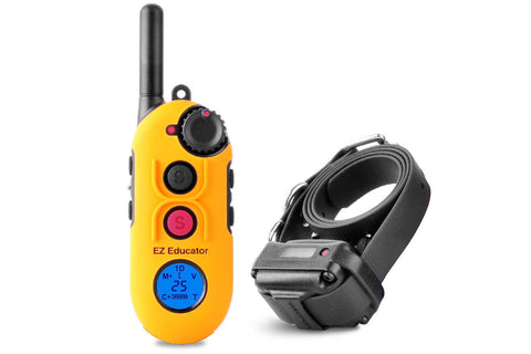 E-Collar EZ-900 Easy Educator 1/2 Mile Modern Dog Trainer Remote Collar for 1 dog