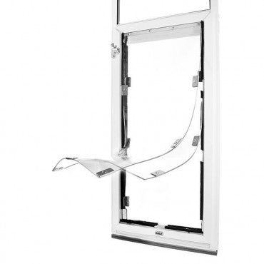 Hale Omni Panel Sliding Glass Door Mounted Dog and Cat Door