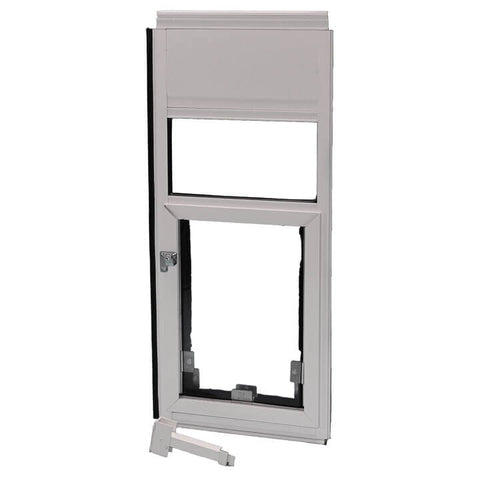 Hale Omni Horizontal Window Mounted Dog Door and Cat Door