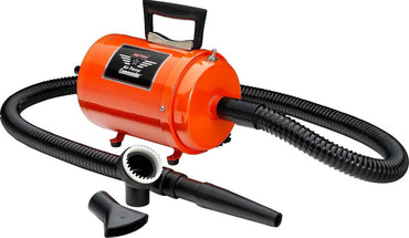 MetroVac Air Force Commander Professional Pet & Dog Dryer orange