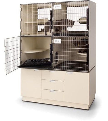 PetLift Professional Cat Condo with Storage