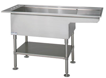 VetLine Multi-Purpose bi-level Stainless-Steel Wet Table