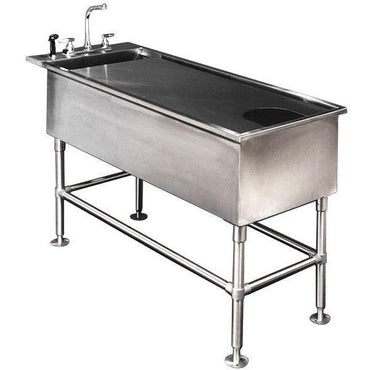 VetLine Multi-Purpose Stainless-Steel Wet Table