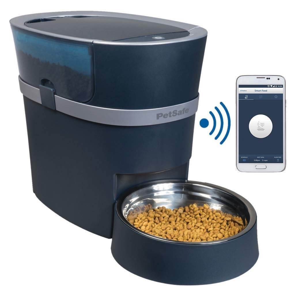 PetSafe Smart Feed Automatic Pet Feeder for iPhone and Android - 12 meal