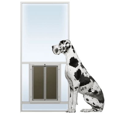 PlexiDor Sliding Glass Door Insert Cat & Dog Door
