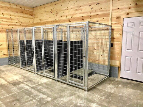 TK Products Pro-Series Single Dog Kennel - Indoor/Outdoor Wire Enclosed Kennel