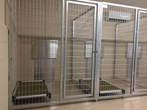 TK Products Pro-Series Multi-Dog Backless Kennel - Indoor/Outdoor Wire Kennels