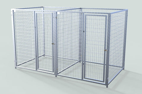 TK Products Pro-Series Enclosed Multi-Dog Kennel