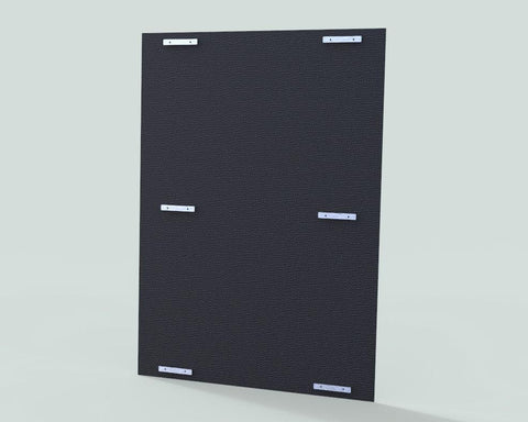 TK Products Dog Kennel Isolation Panels - Black