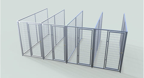 TK Products Pro-Series Backless Multi-Dog Kennels - 6 Week Lead Time