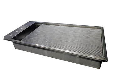 "VetLine Drop-In Stainless-Steel Wet Table Liner 48"" & 60"""