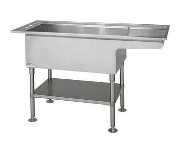 VetLine Bi-Level Multi-Purpose Stainless-Steel Wet Table - 60""