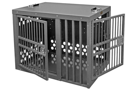Zinger Heavy Duty Front/Side Entry Aluminum Dog Travel Crate