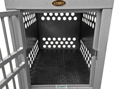 Zinger Deluxe Aluminum Dog Travel Crate 10-DX4000-2-FD
