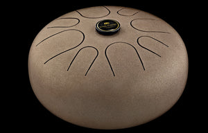Meinl Steel Tongue Drum Vintage Brown - A Minor