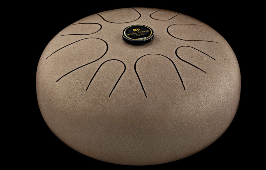 Meinl Steel Tongue Drum Vintage Brown - G Major