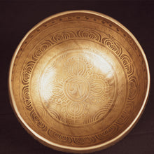 Load image into Gallery viewer, Tibetan Thunderbolt Singing Bowl - 7""