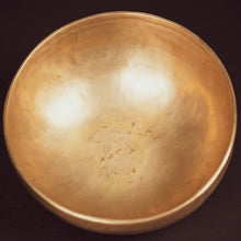 Load image into Gallery viewer, Tibetan West Bengal Plain Singing Bowl - 8.5""