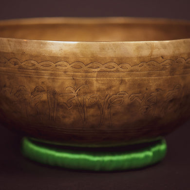 Tibetan Compassion Meditation Bowl - 11